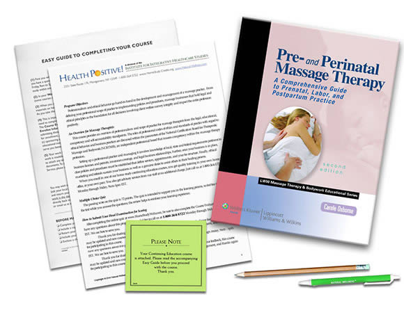 Pre- and Perinatal Massage