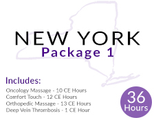 New York 36 Hour Massage CE Package 1