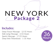New York 36 Hour Massage CE Package 2