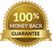 100% Money-Back Guarantee Seal